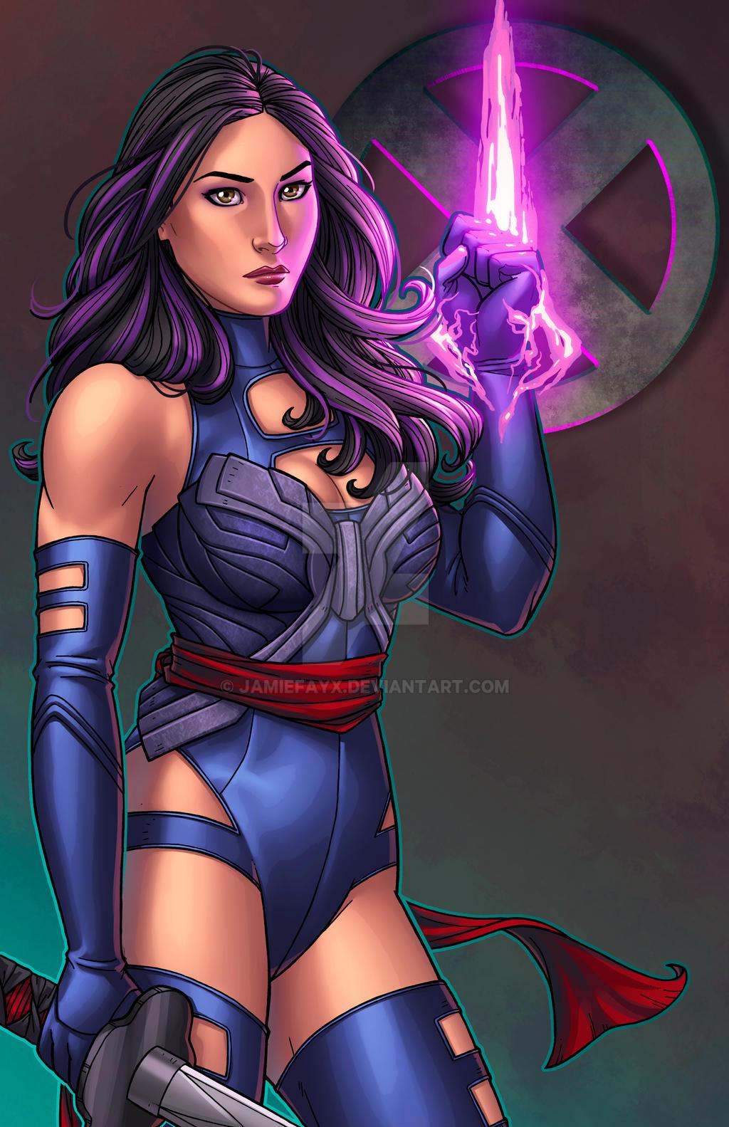 Psylocke - X-MEN Apocalypse by JamieFayX