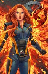 Phoenix - X-MEN Apocalypse by JamieFayX
