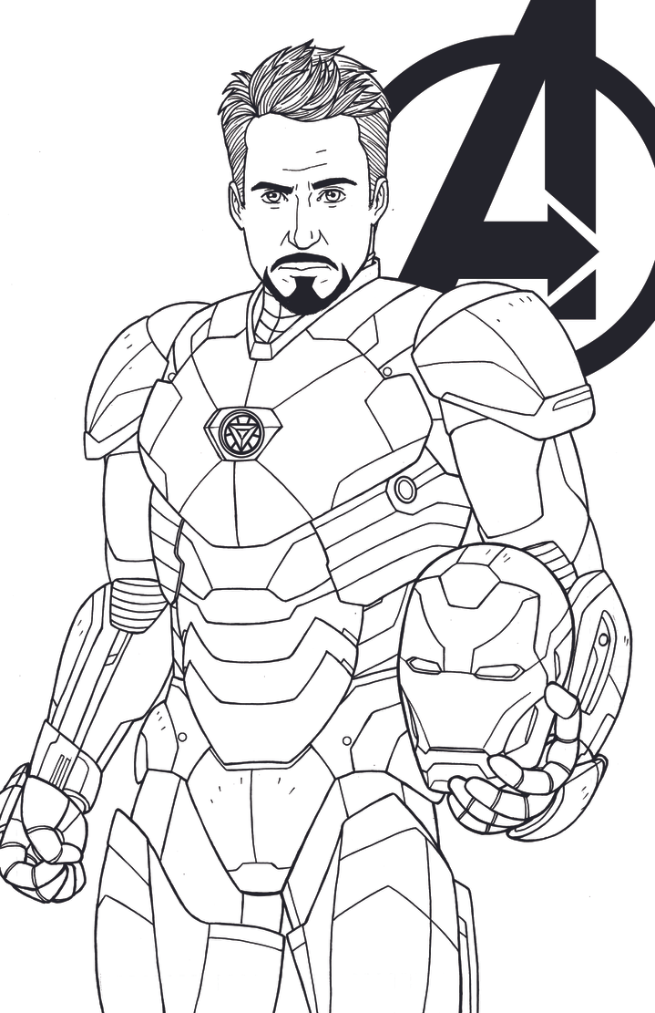 Tony Stark - Robert Downey Jr by JamieFayX