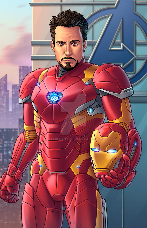 Iron Man - Civil War by JamieFayX