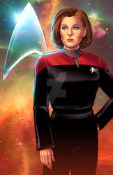 Captain  Kathryn Janeway - Star Trek: Voyager