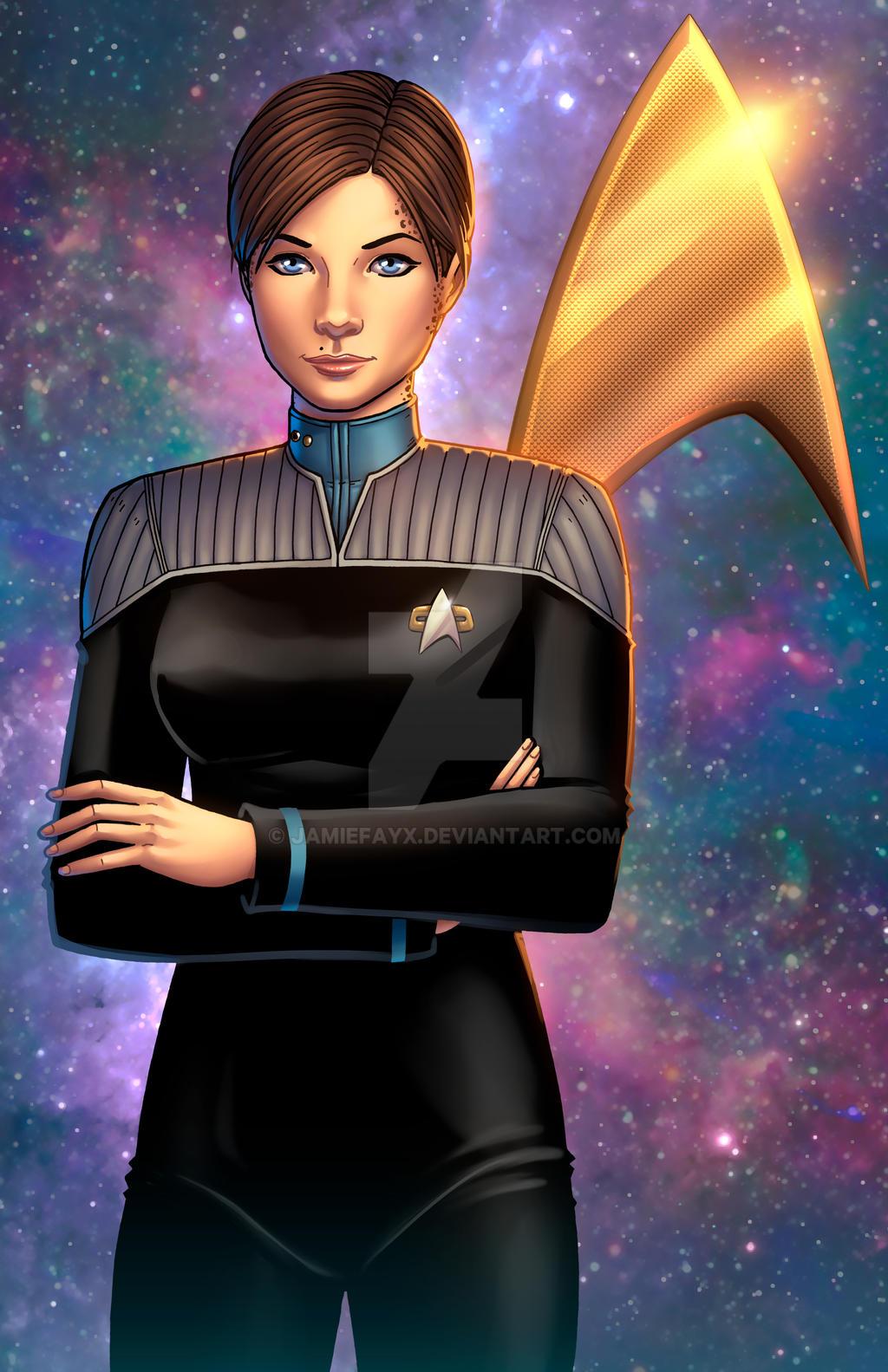 Ezri Dax Star Trek Deep Space Nine By Jamiefayx On Deviantart