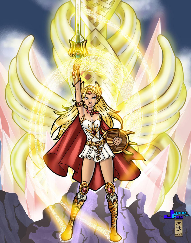 she-ra the princess of power by JamieFayX