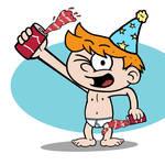 Joey's Birthday Soda Splash