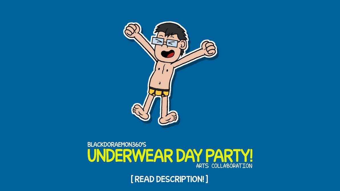 Underwear Day Party Art Collab (READ DESCRIPTION!)