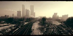 Industrial zone by Merkulov