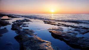 rethimnon sunset
