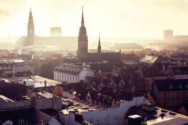 roofs of copenhagen
