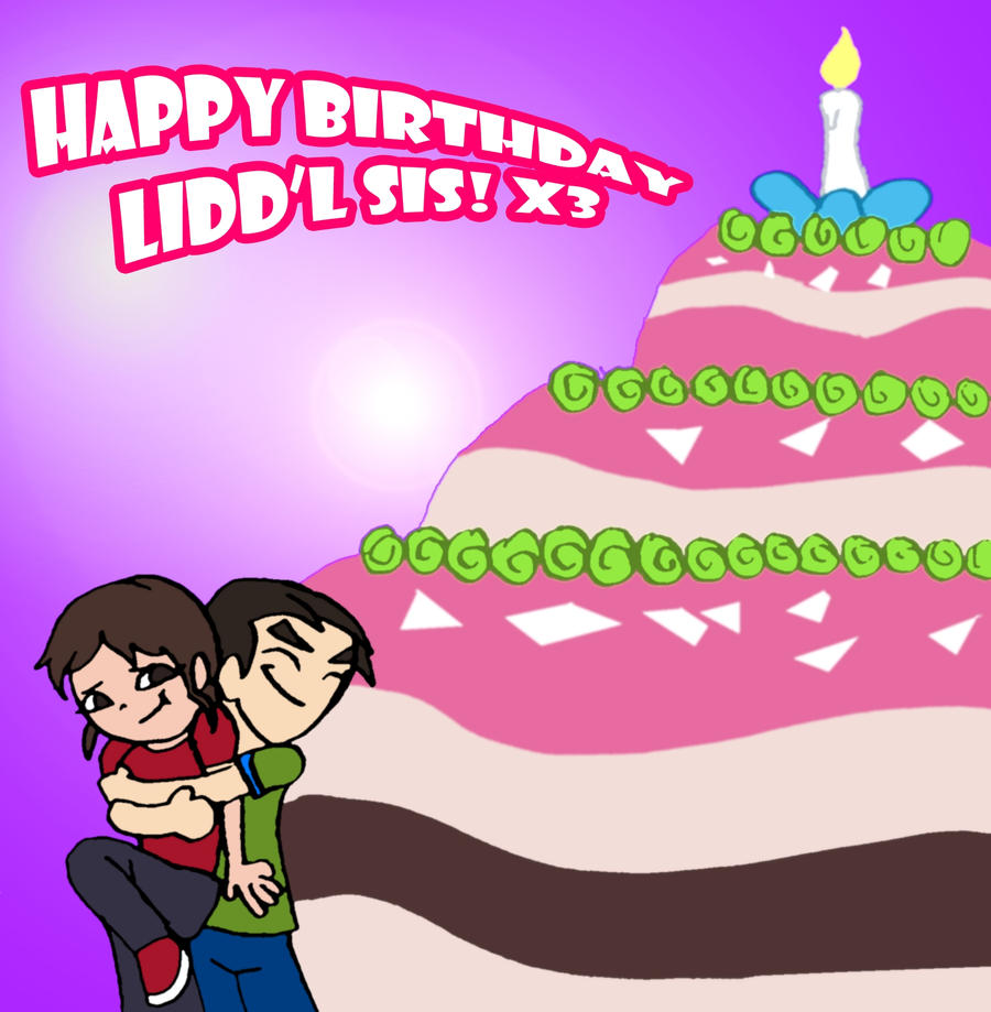 Happy birthday sister clipart