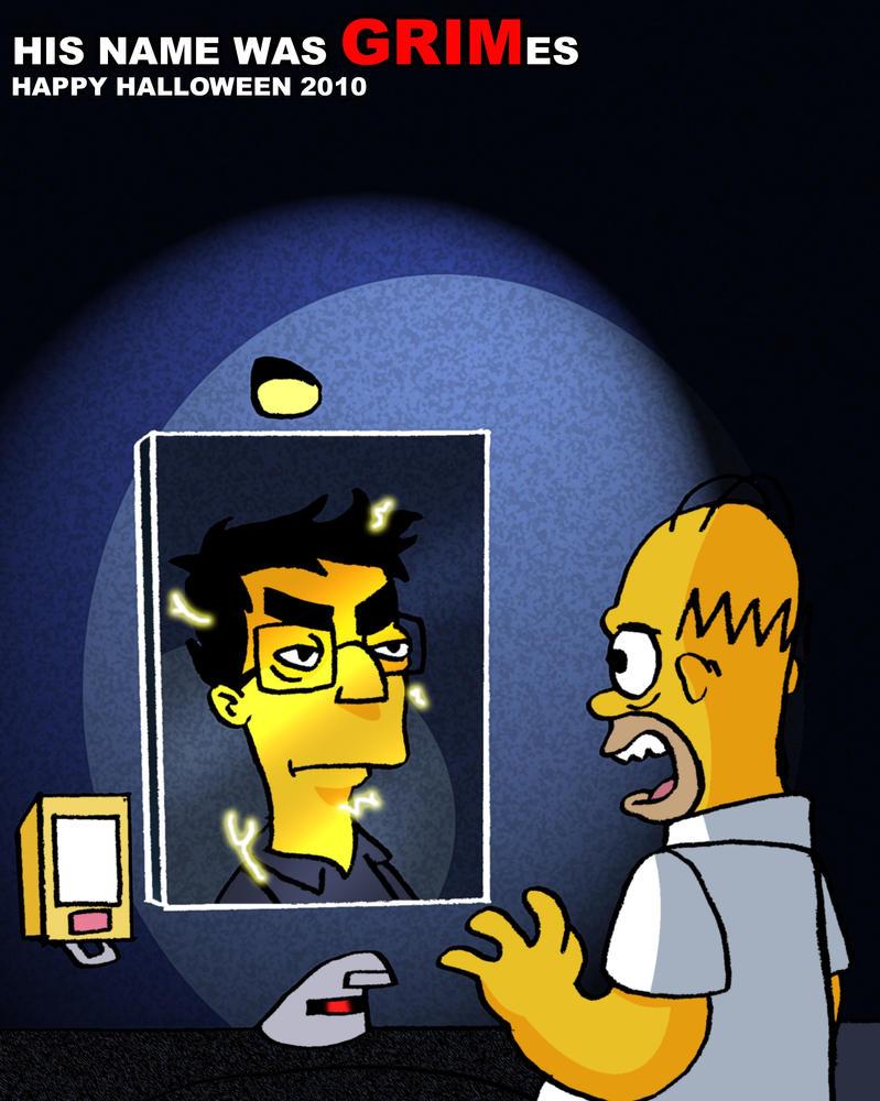 Simpsons halloween 2010 by toongrowner
