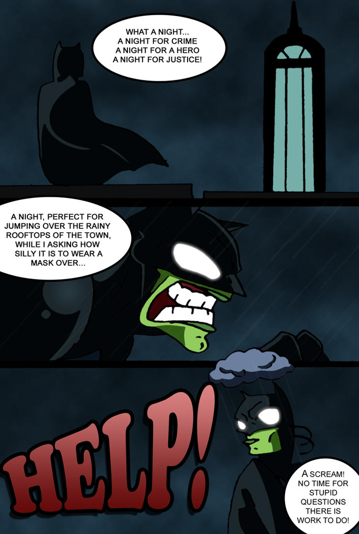 BatMask Page 1 by toongrowner