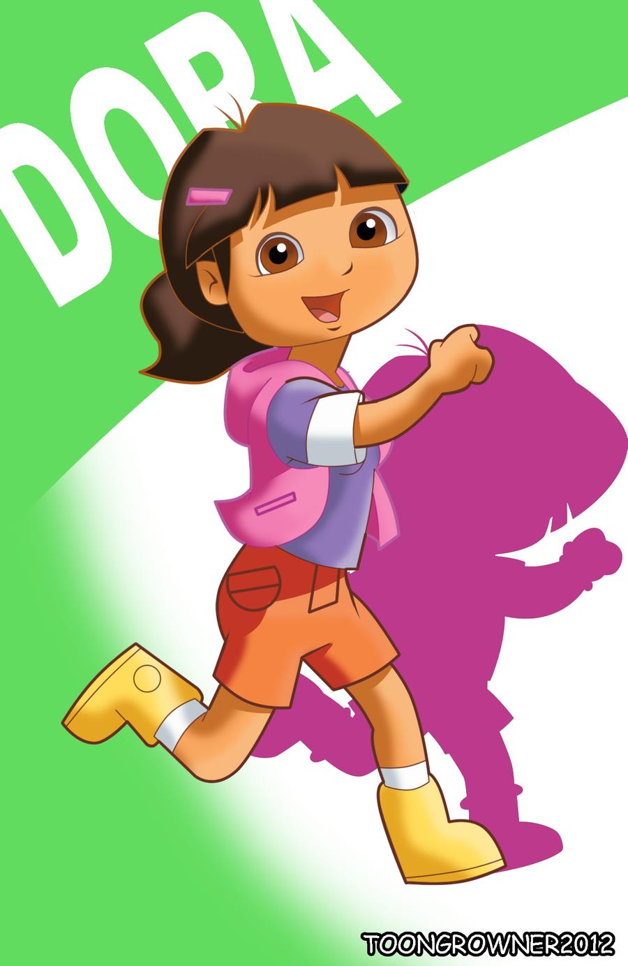 Dora still explorer alternate hairstyle by toongrowner