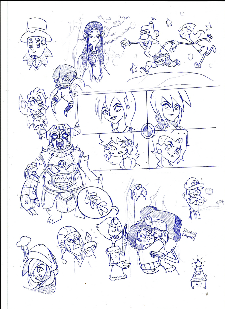sketch 18122014 2 by toongrowner