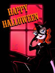 Halloween 2016 Catwoman Candace