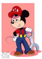 Minnie the Plumber by toongrowner