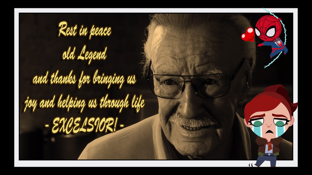 Rest in peace Stan Lee by toongrowner