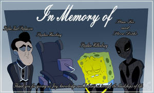 In memory of the 5 legendary St by toongrowner