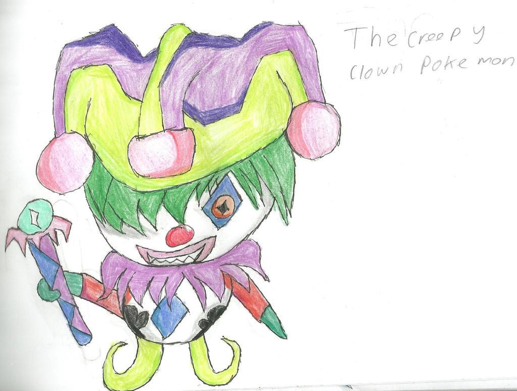 Creepy Clown Pokemon by HyperactiveChaosgirl