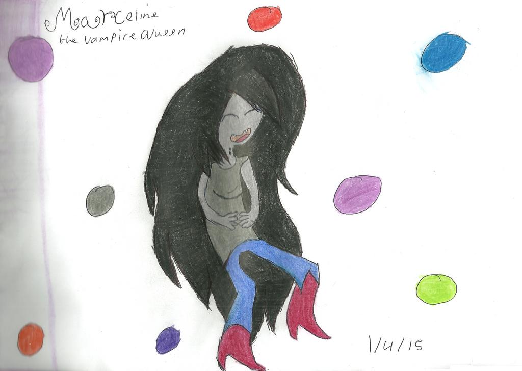 Marceline the vampire queen by HyperactiveChaosgirl
