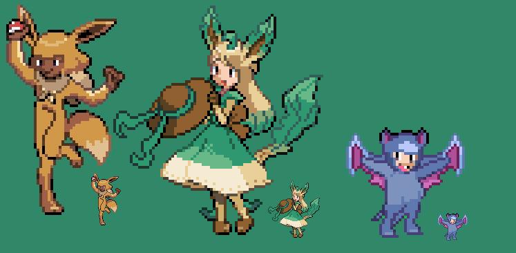 Pokemon Costumes by HyperactiveChaosgirl