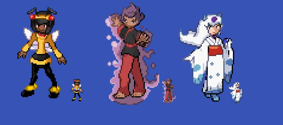 Pokemon costumes 2 by HyperactiveChaosgirl