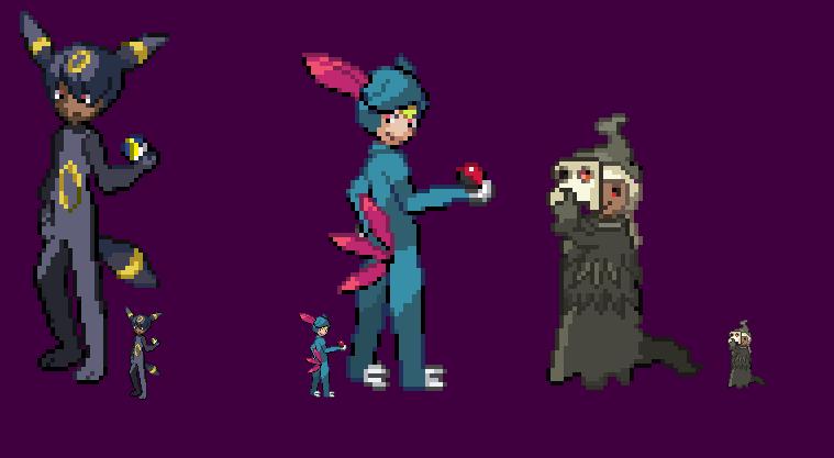 Pokemon Costumes 3 by HyperactiveChaosgirl