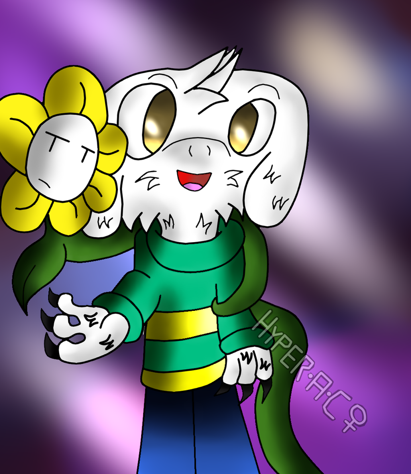 AsrielFlowey Forever in hopes and Dreams. by HyperactiveChaosgirl