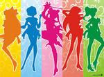 Sailormoon and Inner Senshi