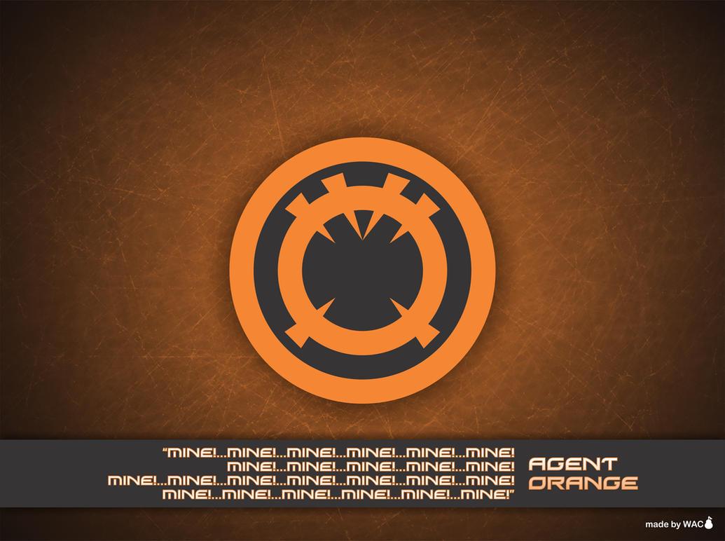 Orange lantern corps wallpaper - photo#11