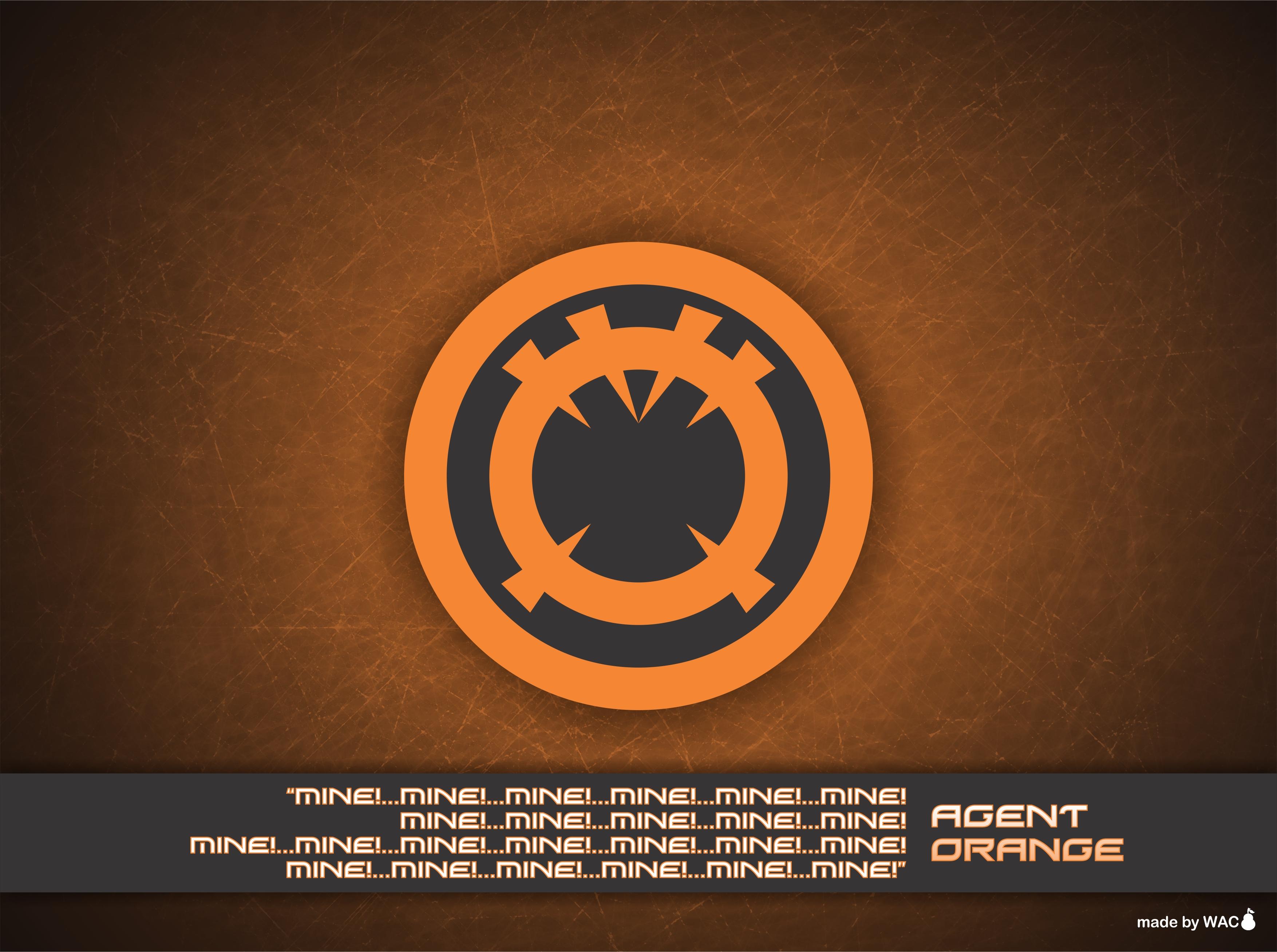 Agent Orange Wallpaper by Willianac on DeviantArt