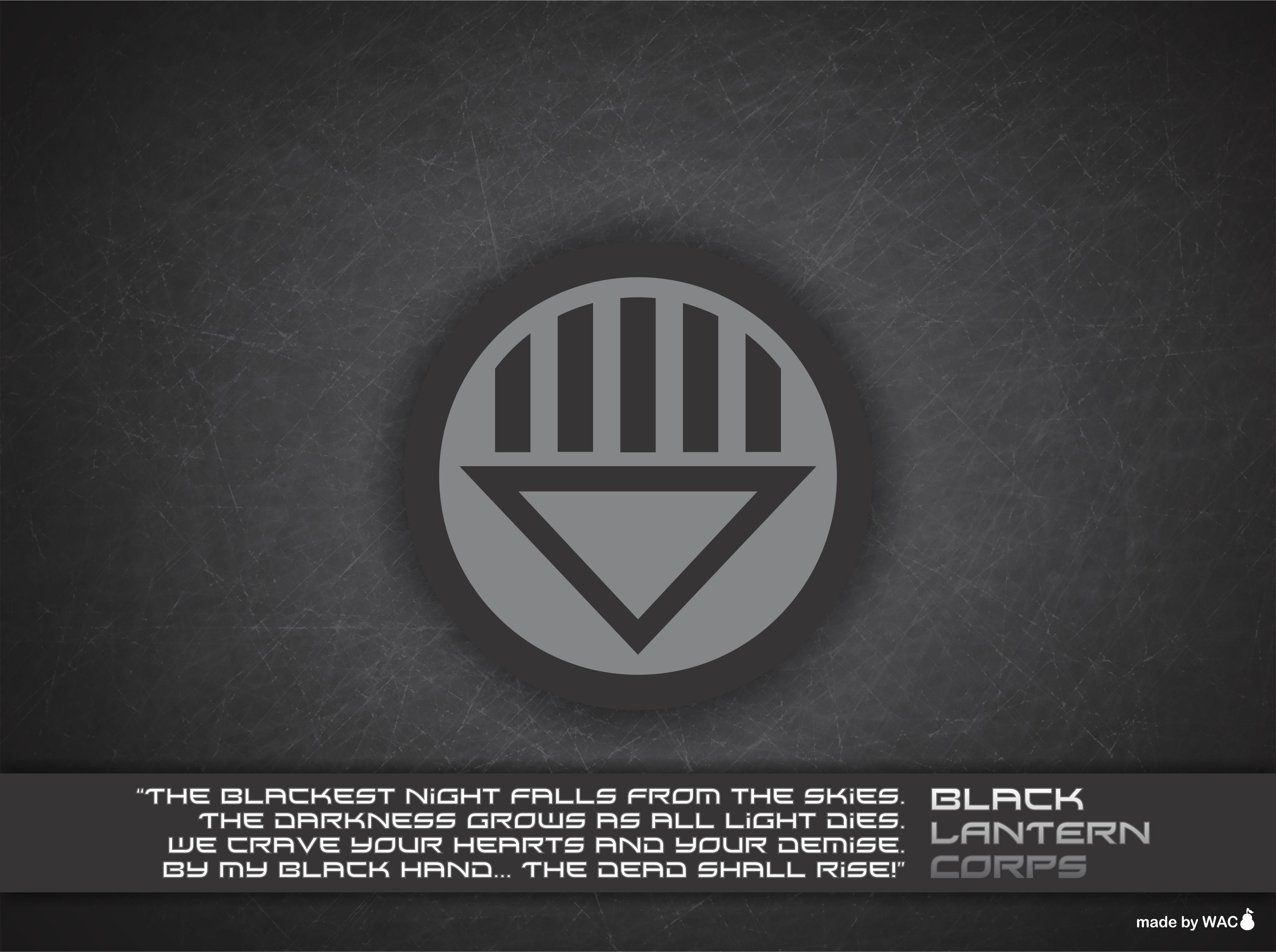 Black lantern oath - photo#13