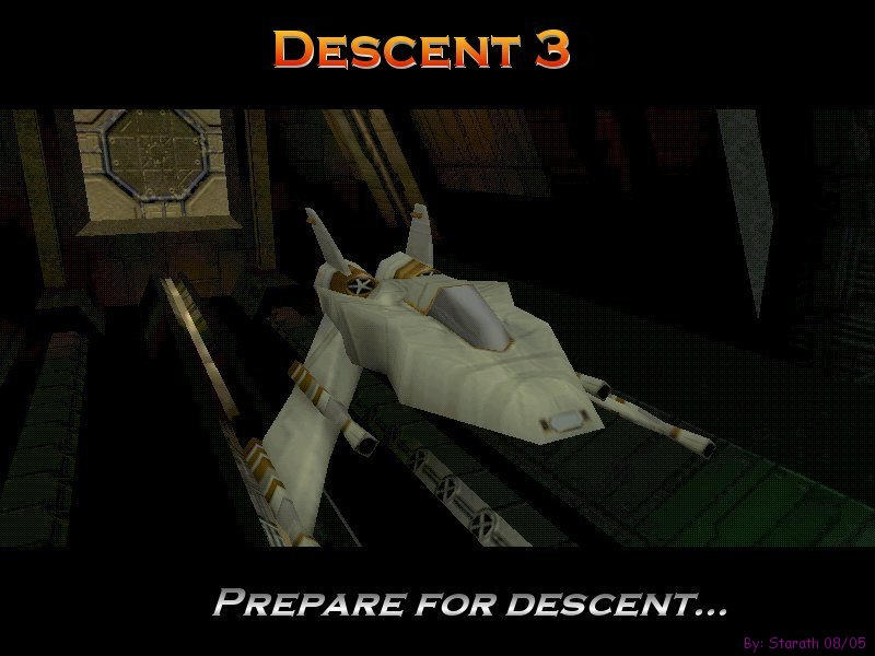 Descent 3 Desktop by Starath
