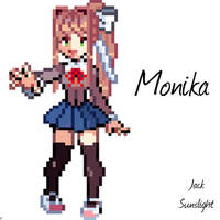 Literature Club President - Monika Pokemon Trainer by JackSunslight00