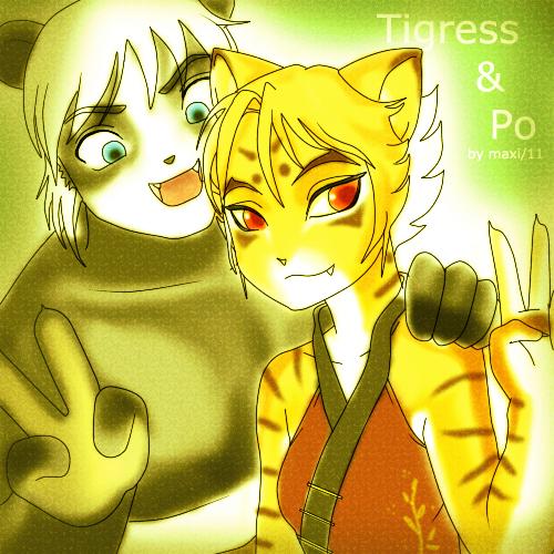 Po n Tigress by GlamorousMaxi on DeviantArt