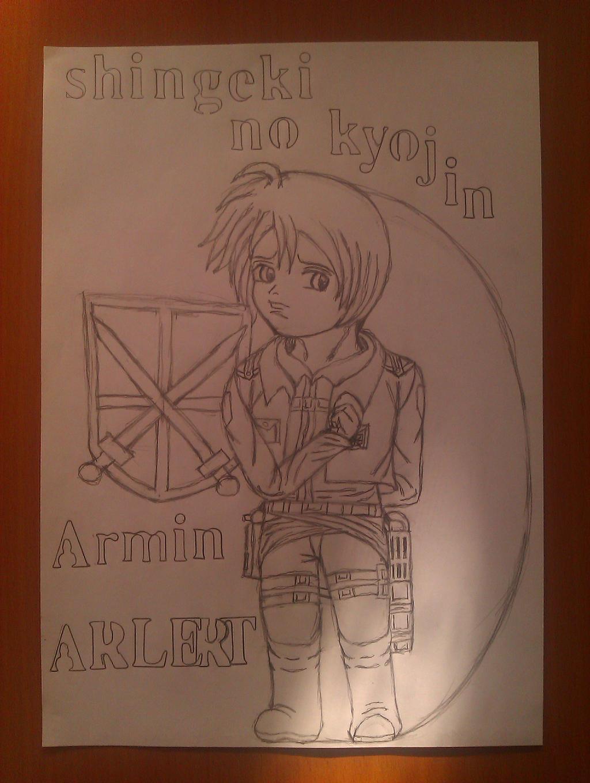 Shingeki no Kyojin-Armin Arlert by Wulfsista