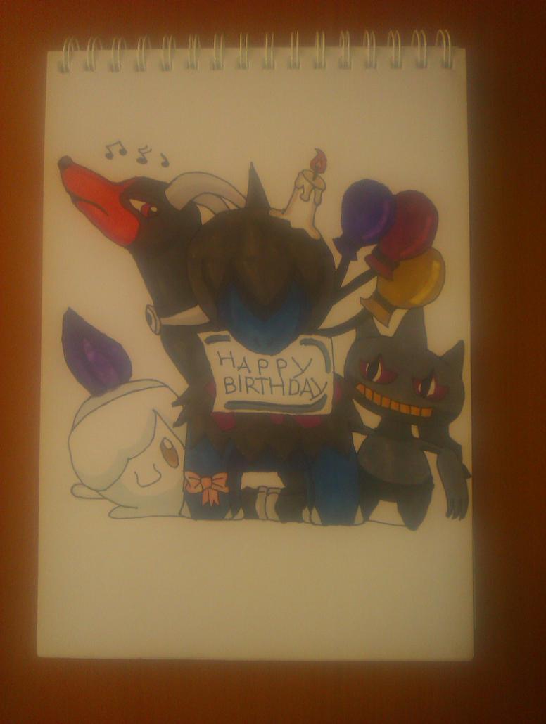 PkMn-Birthday for Inky by Wulfsista