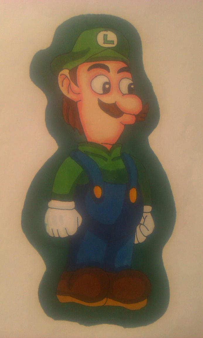 MLPJBros-Luigi by Wulfsista