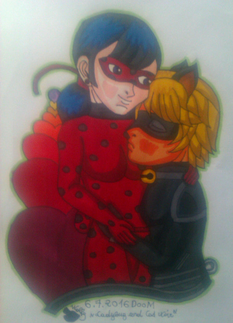 Miraculous-Ladybug and Cat Noir- DooM by Wulfsista