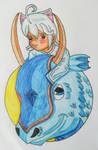 Friendship-Circle: Sephi and Micio(Colored Copy)