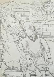 Runaway-Yata-chan meets Taiyou-(Sk) by Wulfsista