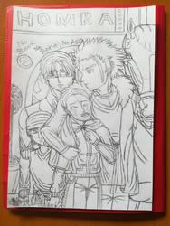 Keeping you warm(Sketch) by Wulfsista
