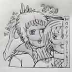 Happy B-Day, Yurio and Akutagawa(Sk)