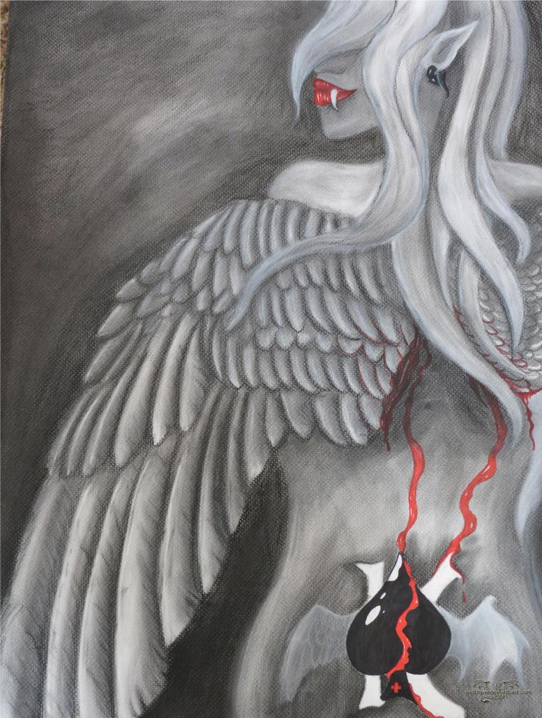 Fallen Angel by Reithya