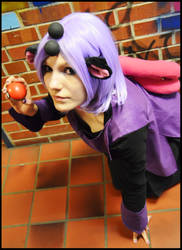 Grumpig with pokeball (Cosplay) by Cookiesymbiot