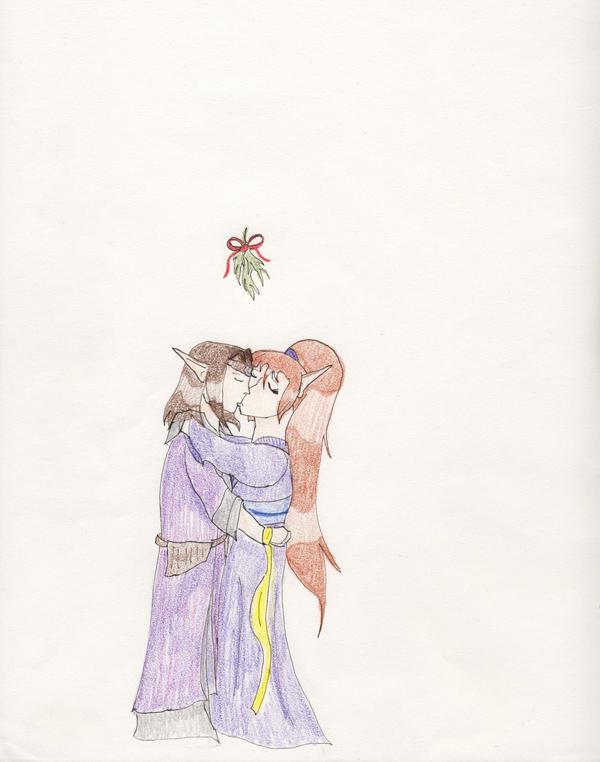 Christmas Kisses by Midorii-kiri