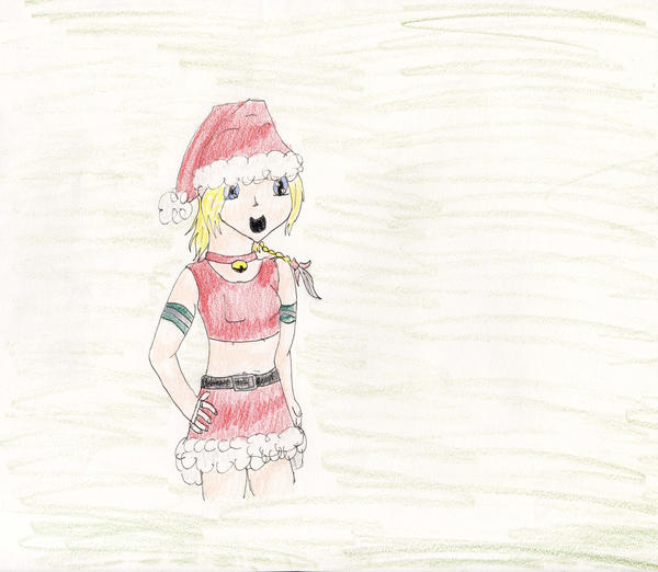 Rikku for Christmas by Midorii-kiri