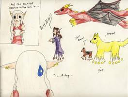 The Scariest Creature Is... by Midorii-kiri