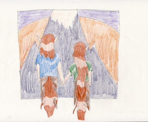 No. 35 Twin Gods by Midorii-kiri