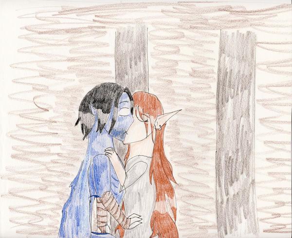 No. 45: Illusionary Kiss by Midorii-kiri