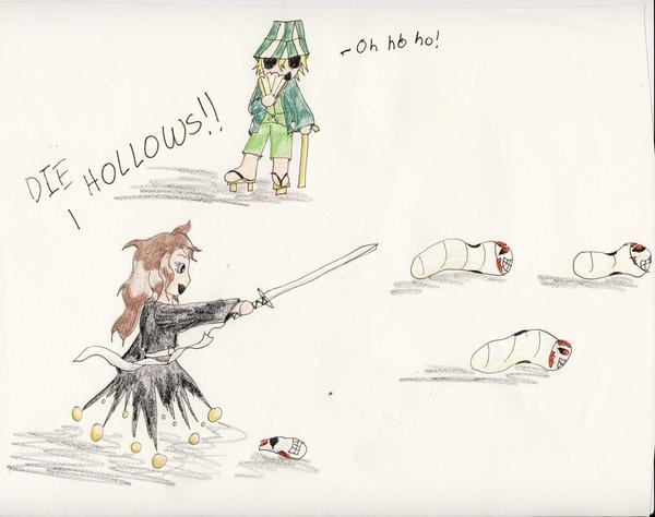 Death of the Hollows by Midorii-kiri